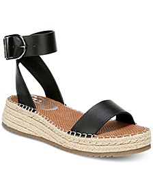 Kennedy Two-Piece Flatform Espadrilles