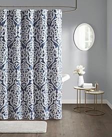 "Odette Jacquard Shower Curtain, 72"" W x 72"" L"
