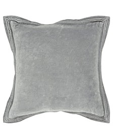 """Solid Decorative Pillow Cover, 20"""" x 20"""""""