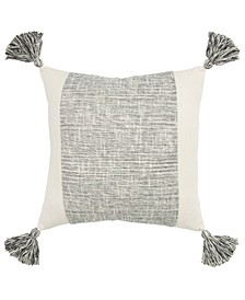"Grid Decorative Pillow Cover, 20"" x 20"""