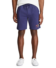 Men's Big & Tall Logo Fleece Drawstring Shorts