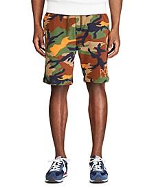 Men's Big & Tall Logo Fleece Camo Shorts