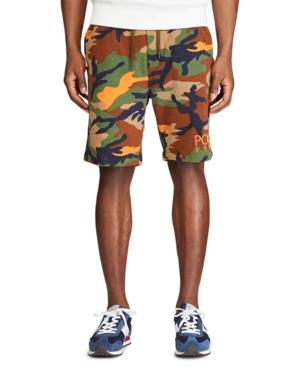 Polo Ralph Lauren Men's Big & Tall Logo Fleece Camo Shorts