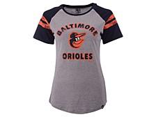 Women's Baltimore Orioles Fly Out Raglan T-shirt
