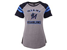 Miami Marlins Women's Fly Out Raglan T-shirt