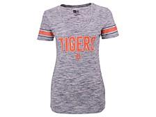Detroit Tigers Women's Space Dye T-Shirt