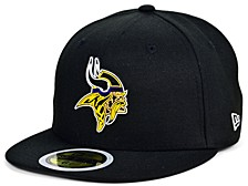 Little Boys Minnesota Vikings Draft 59FIFTY Fitted Cap