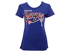 Texas Rangers Women's Homeplate T-Shirt