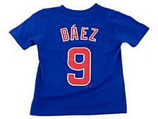 Chicago Cubs Kids Javier Baez Name and Number Player T-Shirt