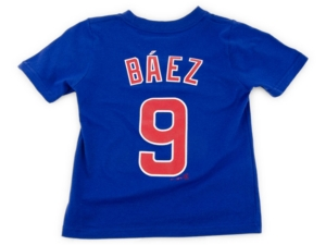 Nike Chicago Cubs Kids Javier Baez Name and Number Player T-Shirt