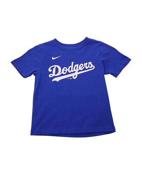 Nike Los Angeles Dodgers Kids Clayton Kershaw Name and ...