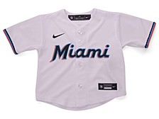 Miami Marlins Toddler Official Blank Jersey