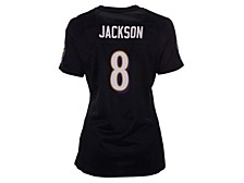 Baltimore Ravens Women's Game Jersey Lamar Jackson