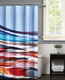 "Vince Camuto Allaire Shower Curtain, 72"" x 72"""