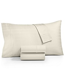 Sleep Cool 3-Pc Twin XL Sheet Set, 400-Thread Count Egyptian Hygro Cotton, Created for Macy's