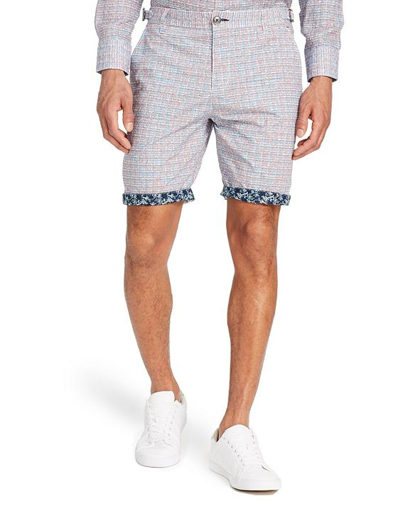 "Brooklyn Brigade Men's Standard-Fit 9"" Roxburgh Flat Front Shorts"
