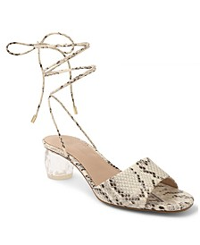 Moxia Tie-Up Sandals