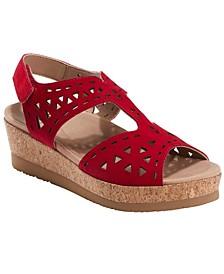 Women's Buran Rosa Cork Platform Sandal
