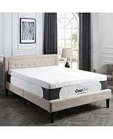 "Harlow 14"" Cool Gel Memory Foam Mattress - California King"