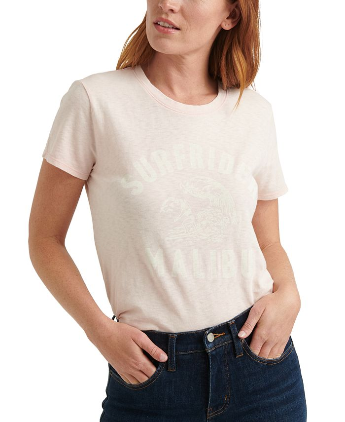 Lucky Brand - Cotton Surfrider Graphic T-Shirt