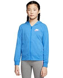 Sportswear Big Girls Full Zip Hoodie