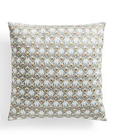 "Bedford Geo 18"" x 18"" Decorative Pillow"