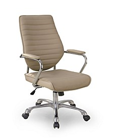 Devlin Contemporary Mocha Office Chair
