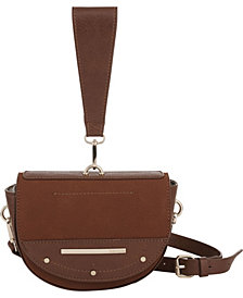 kensie Women's Half Moon Crossbody Bag