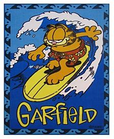 """Garfield Surfing 19"""" x 29"""" Area Rug"""
