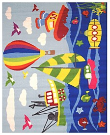 "Fun Time Marina 19"" x 29"" Area Rug"