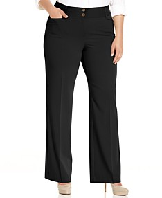Women\'s Plus Size Pants - Macy\'s