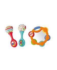 Tambourine & Maracas Gift Set