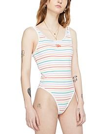 Women's Striped Bodysuit