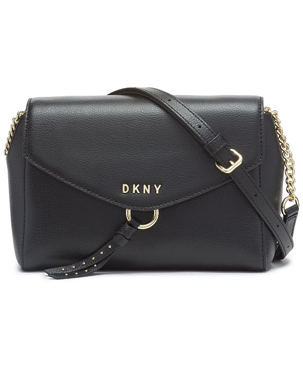 DKNY Lola Flap Leather Crossbody