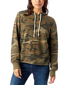 Alternative Apparel Day Off Printed Burnout French Women's Terry Hoodie