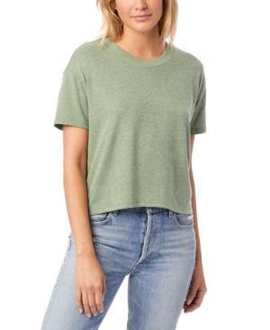 Headliner Vintage-Like Women's Jersey Cropped T-Shirt
