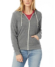 Adrian Eco-Fleece Women's Zip Hoodie