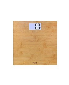330Eco Bamboo Bathroom Scale