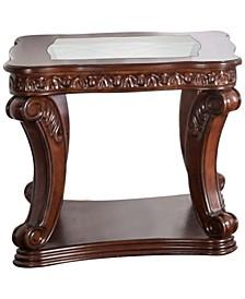 Gabriel Dark Oak End Table