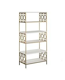 by Cosmopolitan Ella 5 Shelf Bookcase
