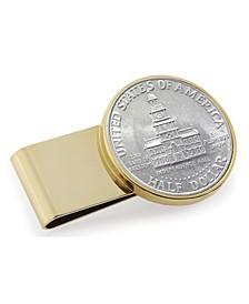 JFK Bicentennial Half Dollar Stainless Steel Coin Money Clip