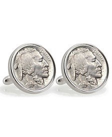 Ucla 1919 Sterling Silver Nickel Coin Cuff Links