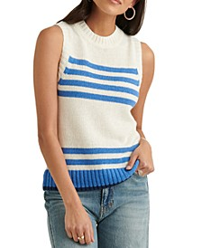 Striped Sleeveless Sweater