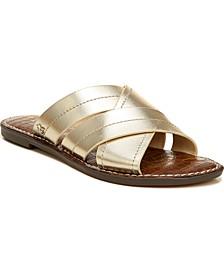 Women's Gretch Cross-Band Slide Sandals