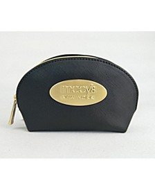 Macy's Crosshatch Small Cosmetic Bag/gold New York Plaque, Created for Macy's