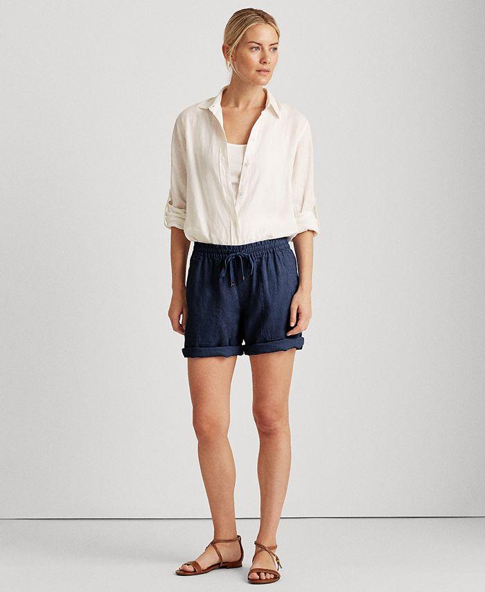 Lauren Ralph Lauren - Linen Shorts