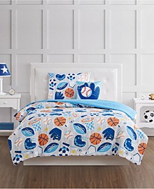 All Star Twin 3 Piece Comforter Set