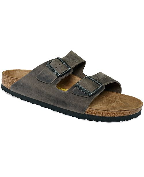 PudfUmW7Oo Mens Arizona Oiled Leather Buckle Sandals Mens Shoes bjNFfbhzC