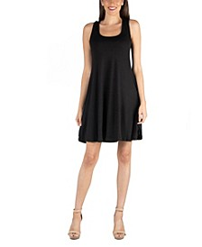 A-Line Fit and Flare Mini Dress