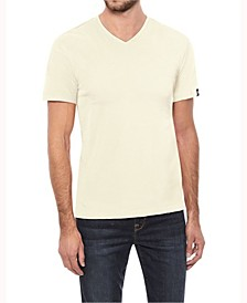 Men's Soft Stretch V-Neck T-Shirt